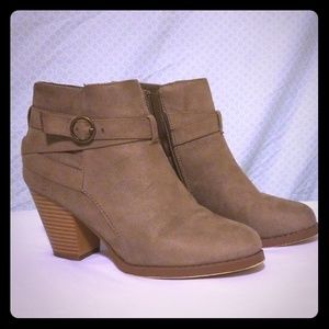 """Faux suede ankle boots """"Freda"""""""